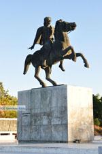 Standbeeld Alexander de Grote | Thessaloniki Macedonie | De Griekse Gids foto 3 - Foto van De Griekse Gids