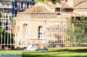 Slapend bij kerk Panagia Chalkeon   Thessaloniki Macedonie   De Griekse Gids - Foto van De Griekse Gids