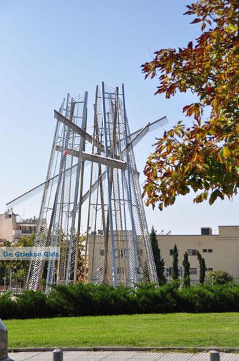 Metalen monument | Thessaloniki Macedonie | De Griekse Gids foto 42 - Foto van De Griekse Gids