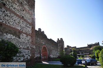 Byzantijnse muren bovenstad | Thessaloniki Macedonie | De Griekse Gids foto 43 - Foto van De Griekse Gids
