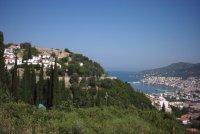Samos stad foto van Renee Mof - Foto van Renee Mof
