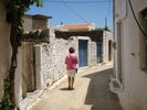 Walking in the village of Mochos - Foto van Lindia