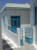 White and blue house, Pigadia, Karpathos