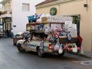 Mobile shop on Karpathos