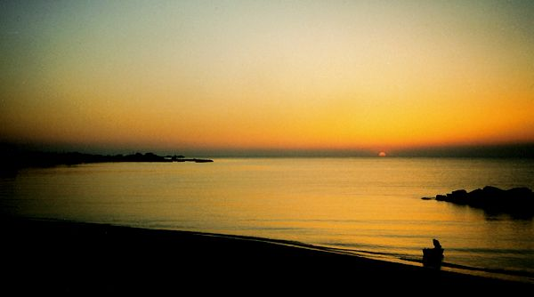 Sunset Skyros - Foto van amvanderkaay