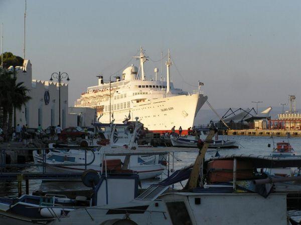 Ook dit is de haven van Kos-stad - Foto van harry1123